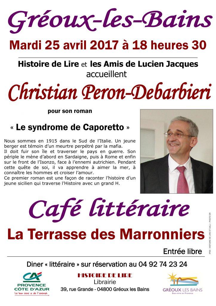 Café littéraire Gréoux les Bains